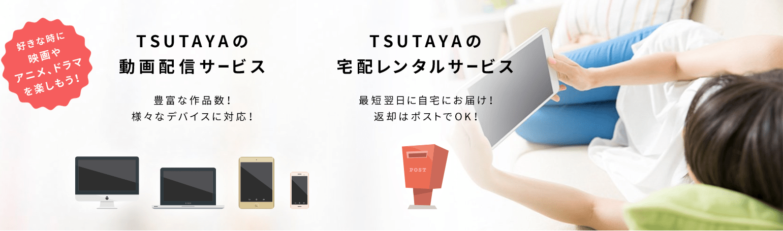 TSUTAYA TV のプラン紹介(料金も)